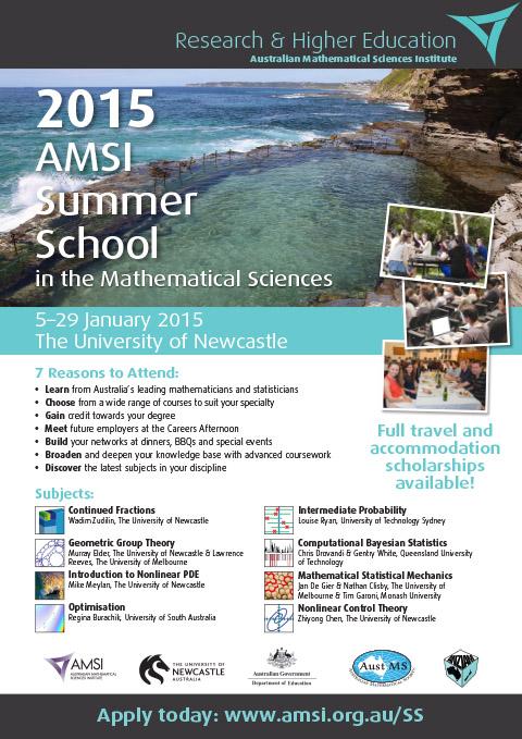AMSI Summer School 2015